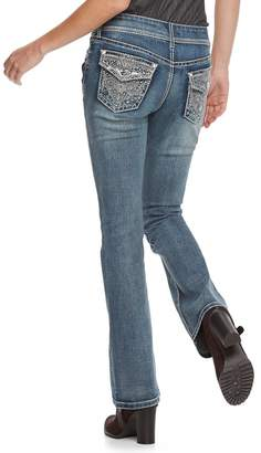 Apt. 9 Women's Embellished Bootcut Jeans