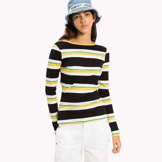 Tommy Hilfiger Long Sleeve Stripe T-Shirt