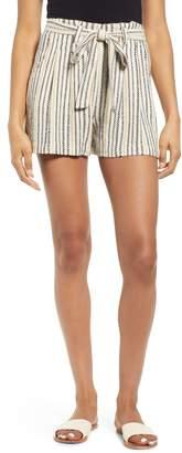 BP Stripe Jacquard Linen Blend Shorts
