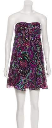 Tibi Structured Mini Dress