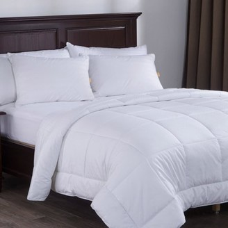 Pure Down Puredown White Down Alternative Comforter Duvet Insert with 300 Thread Count Cotton Shell