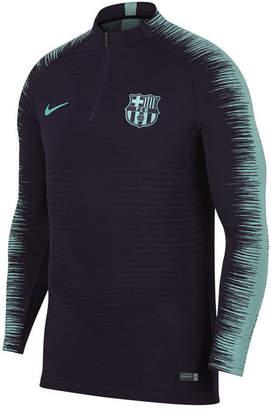 Nike Men's Fc Barcelona Club Team Vapor Knit Strike Drill Top