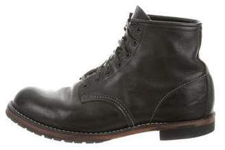 Red Wing Shoes Round-Toe Ankle Boots