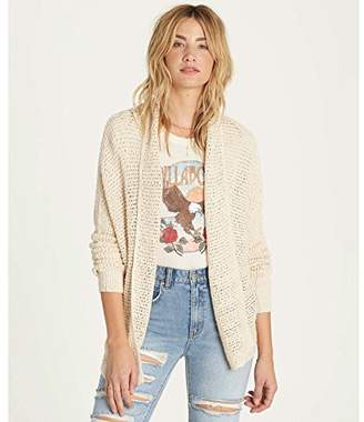 Billabong Women's Shake Down Dolman Sleeve Cardigan Sweater