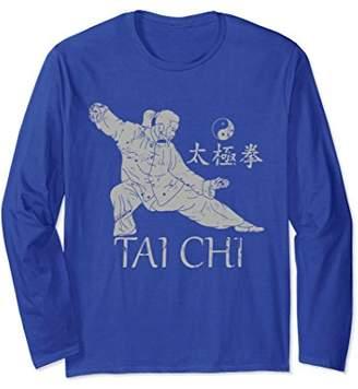 Tai Chi t shirt   Long Sleeve   Qi Gong