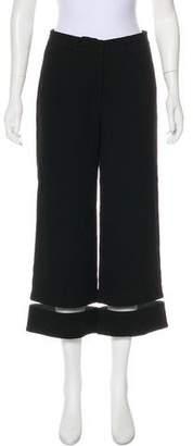 Alexander Wang Mid-Rise Wide-Leg Pants