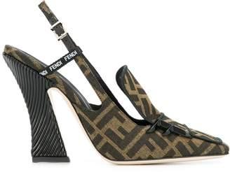 Fendi FFreedom slingback pumps