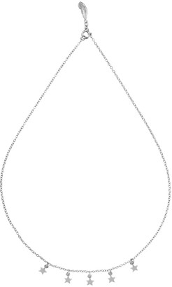 Harry Rocks Astrid Short Star Necklace Silver