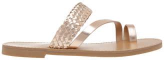 Miss Shop Maeve Rose Gold Sandal