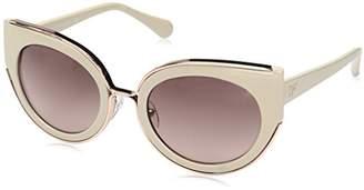 Diane von Furstenberg Women's DVF626S Norah Round Sunglasses