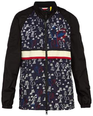 Moncler 2 1952 - Pop Art Print Technical Nylon Jacket - Mens - Black