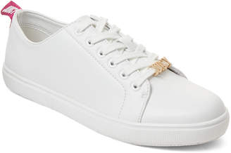 Juicy Couture White Jody Logo Low-Top Sneakers