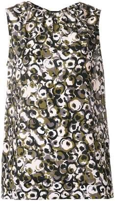 Marni Marken print sleeveless top