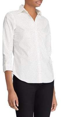 Lauren Ralph Lauren Petite Non-Iron Cotton Shirt
