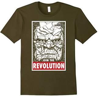 Marvel Thor Ragnarok Korg Join Revolution Propaganda T-Shirt
