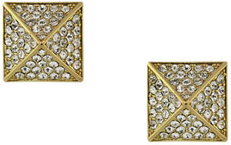 Vince Camuto Micro-Pave Pyramid Stud Earrings