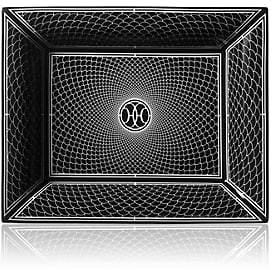 Hermes H Deco Change Tray-Black