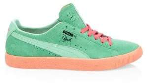 Puma Clyde South Beach Suede& Leather Sneakers