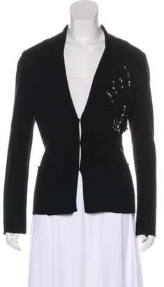 Fuzzi Embellished Knit Cardigan