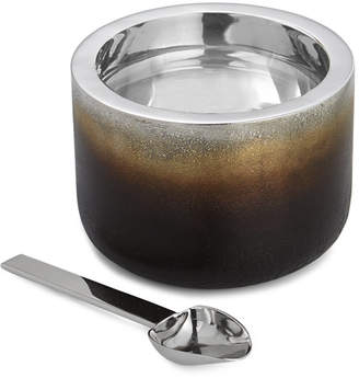 Michael Aram Torched Nut Dish With Spoon