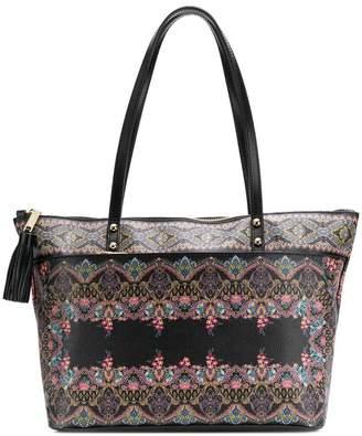 Etro printed shopping bag