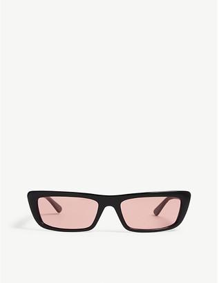Vogue Gigi Hadid Bella rectangle-frame sunglasses