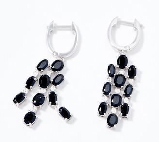 Gemstone Chandelier Earrings, Sterling Silver