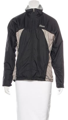 Patagonia Colorblock Stand Collar Jacket $70 thestylecure.com