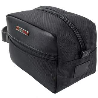 Hudson alpine swiss Men's Travel Toiletry Bag Shaving Dopp Kit