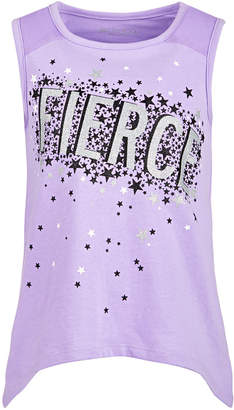 Ideology Little Girls Fierce-Print Tank Top, Created for Macy's