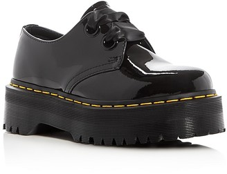 Dr. Martens Holly Platform Oxfords $145 thestylecure.com