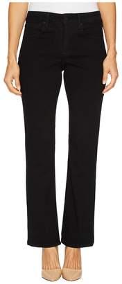 NYDJ Petite Petite Billie Mini Boot in Black Women's Jeans