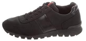 Prada Sport Canvas Low-Top Sneakers