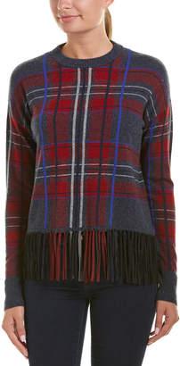 Autumn Cashmere Fringe Cashmere Sweater
