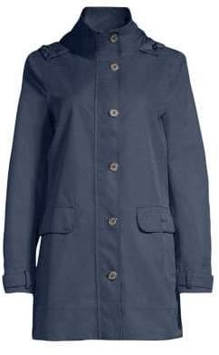 Barbour Women's Weather Comfort Backwater Waterproof Jacket - Navy - Size 10