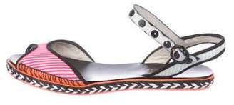 Sophia Webster Printed Ankle Strap Sandals