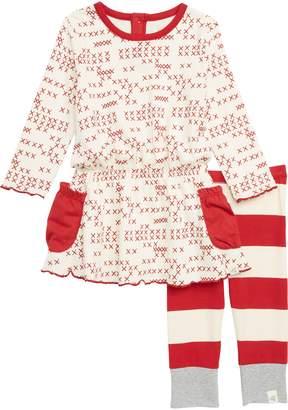 Burt's Bees Baby Pocket Dress & Leggings Set