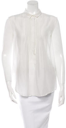 Boy. by Band of Outsiders Sleeveless Button-Up Top $65 thestylecure.com