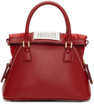 Maison Margiela Red Small 5AC Bag