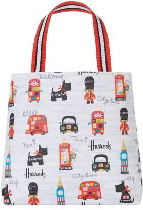 Harrods City Bear Mini Shopper Bag