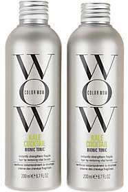 COLOR WOW Color WOW Kale Cocktail Leave-In Hair Supplement 6.7 oz. Duo