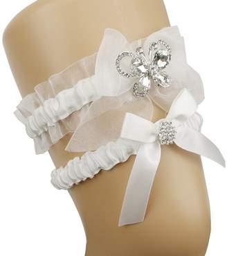 Keepsake Topwon Lace Wedding Garters and Toss Garter