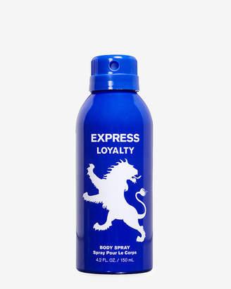 Express Loyalty Body Spray