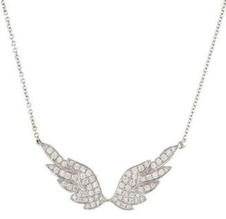 Anita Ko 18K Diamond Wing Necklace