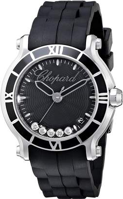 Chopard Women's 278551-3002 RBK Happy Sport Round Analog Display Swiss Quartz Watch