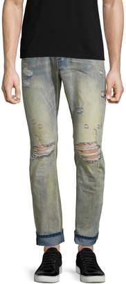 One Teaspoon Men's Mr. Whites Straight Fit Jeans