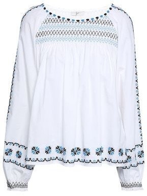 Joie Embroidered Cotton Tunic