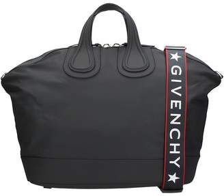Givenchy Nightingale Bag In Black Fabric