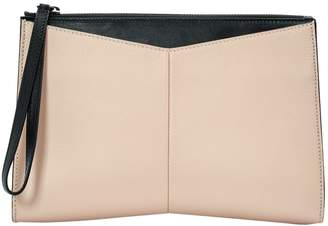 Narciso Rodriguez Pink Leather Clutch Bag