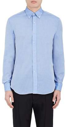 Barneys New York MEN'S COTTON VOILE DRESS SHIRT